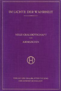 Poselství Grálu - 1926